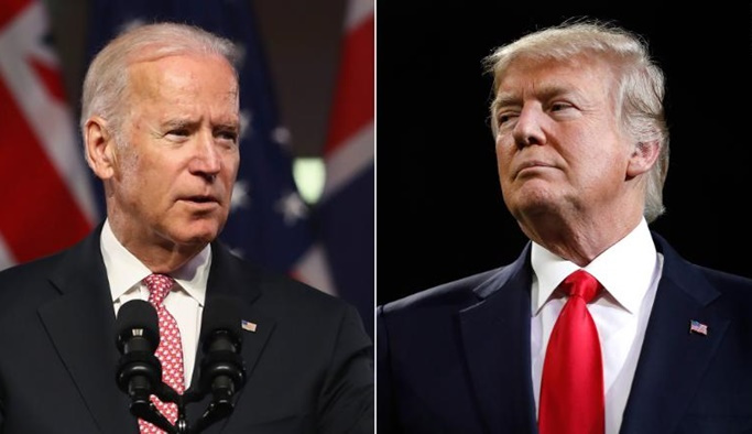 Donald Trump rakibi Biden ile alay etti