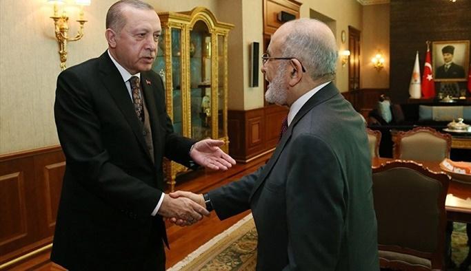 Erdoğan'dan Karamollaoğlu'na: Elimi öptürmem