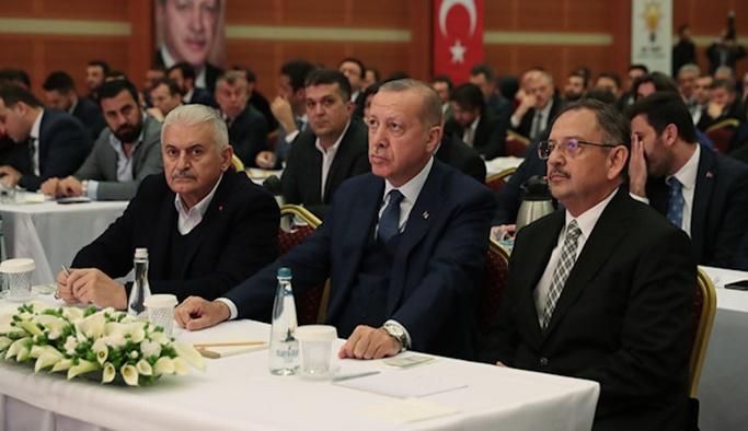 Erdoğan kurmaylarıyla seçimi değerlendirdi