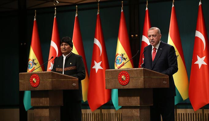 Eva Morales Ankara'da