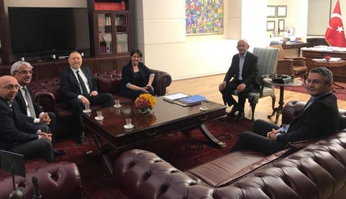 HDP Eş Başkanları'ndan Kılıçdaroğlu'na ziyaret