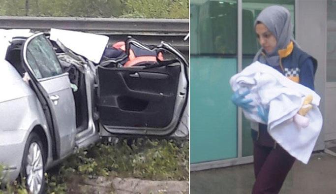 Kahreden kaza yasa boğdu! Anne öldü, eşi ve 4 aylık bebeği...