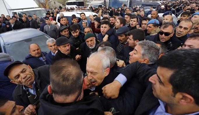 """Kılıçdaroğlu'dan saldırganlara """"terörist"""" suçlaması"""