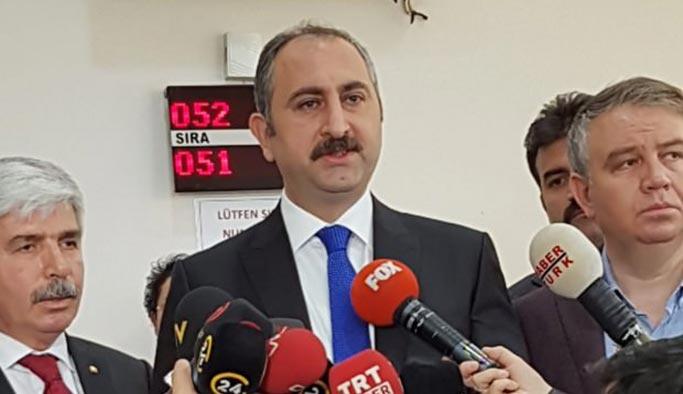 Kılıçdaroğlu'nun ithamlarına Adalet Bakanı Gül'den cevap