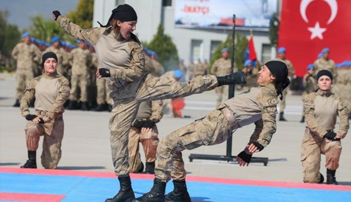 Komando Uzman Erbaş yemin töreninden renkli kareler