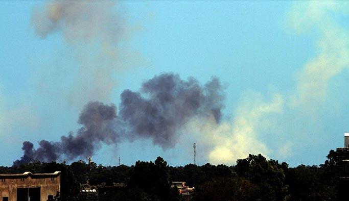 Libya'da batı destekli Hafter'e hava operasyonu