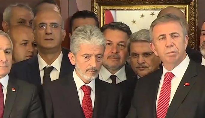 Mansur Yavaş'tan AK Partili Tuna'ya: Güzel hizmetler yaptınız, sizi örnek alacağız