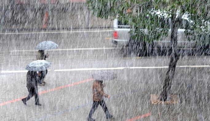 Meteorolojiden bazı illere kuvvetli sağanak yağış uyarısı - 17 Nisan Hava Durumu