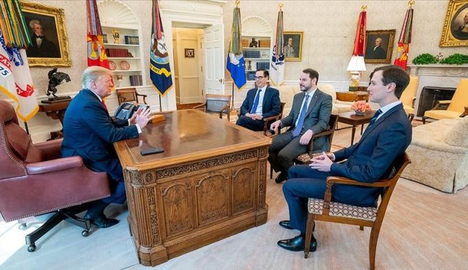 Beyaz Saray'da ABD başkanıyla görüşen ilk Türk bakan oldu