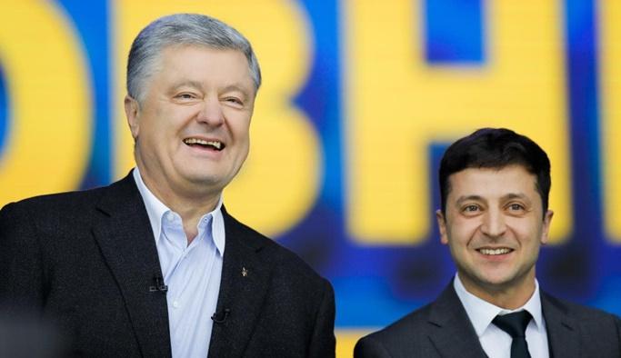 Poroşenko'nun rakibi yüzde 73'le birinci çıktı