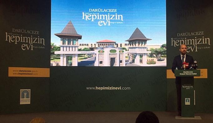 Sosyal Hizmet Şehri Projesi tanıtıldı
