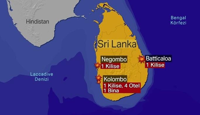 Sri Lanka'daki katliamı gerçekleştiren örgüt açıklandı
