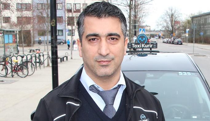 Türk taksici yaptığı hareketle ülkede kahraman oldu