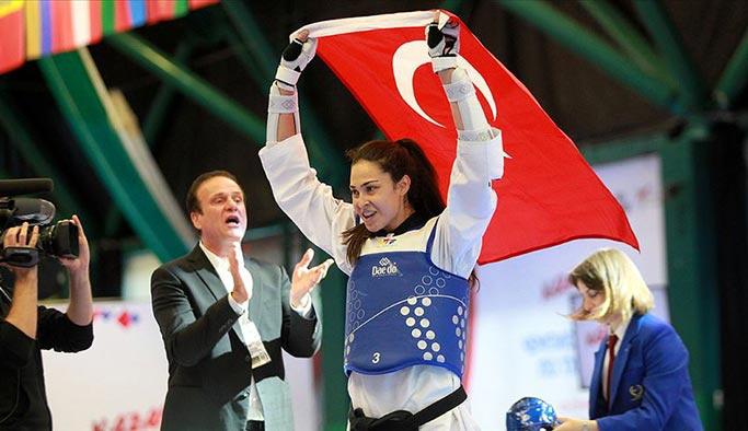 23 yaşındaki İrem dünya şampiyonu oldu