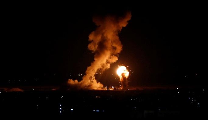 ABD'den İsrail'in hava saldırılarına destek