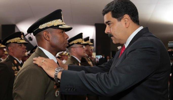 ABD'den Maduro'nun generaline 'rüşvet'