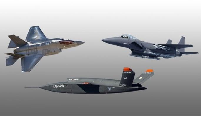 ABD F-35'lerle uçacak İHA geliştiriyor