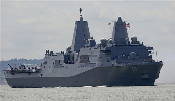 ABD İran'a karşı patriot yüklü bir gemi gönderiyor
