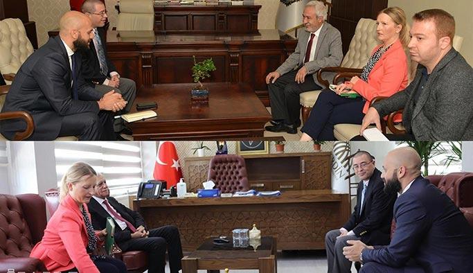 ABD konsolosluğundan HDP'li belediyelere ziyaret
