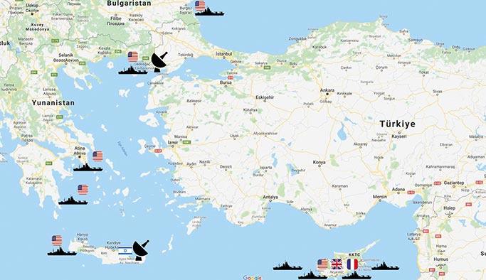 ABD Türkiye'yi mi kuşatıyor, Dedeağaç'a da yığınak yaptı