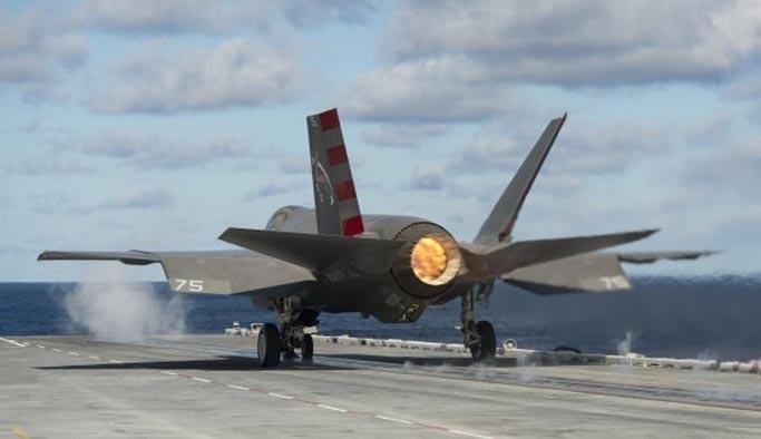 Amerikan savaş uçakları İran üzerinde devriye attı
