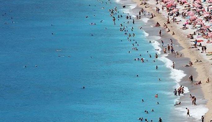 Antalya'da turist patlaması yaşanıyor