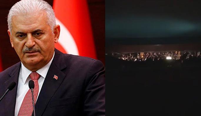 Binali Yıldırım CHP'liler tarafından protesto edildi