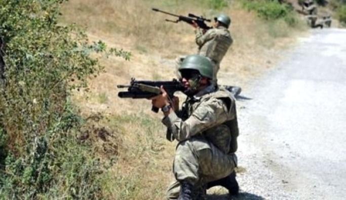Bingöl'de çatışma, iki asker yaralı