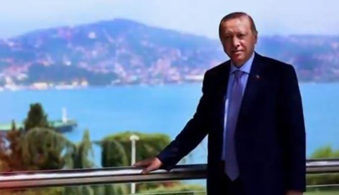 Cumhurbaşkanı Erdoğan'dan Necip Fazıl için şiirli mesaj