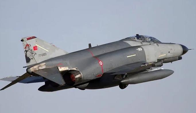 Düzeltme: Pençe harekatından dönen savaş uçağı inişte hasar aldı