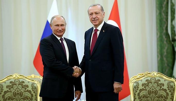 Erdoğan ile Putin arasında İdlib görüşmesi