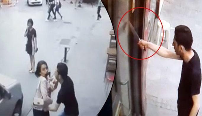Eşiyle kavga eden adam terör estirdi
