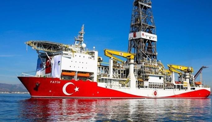 Fatih, Doğu Akdeniz'de sondajda