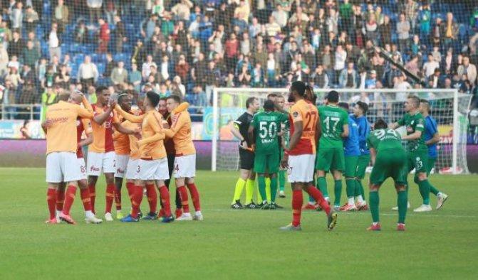 Galatasaray, Rize'den 3 puanı son dakikalarda aldı