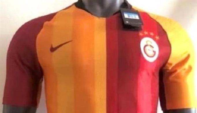Galatasaray'ın yeni forması internete sızdı