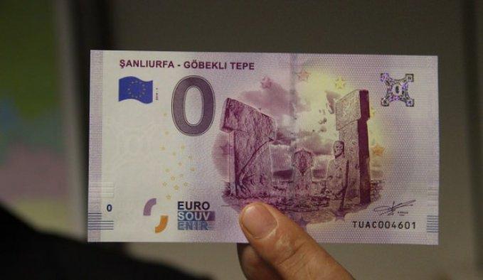Göbeklitepe için hatıra amaçlı Euro basıldı