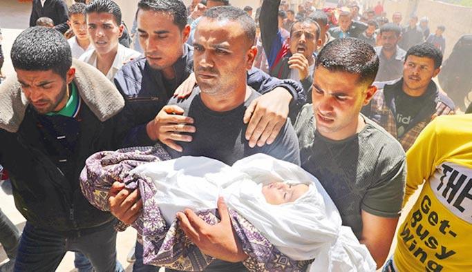 İsrail'den Filistin saldırılarına 'Eurovizyon Molası'