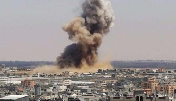 İsrail Gazze Şeridi'ne hava saldırısı başlattı