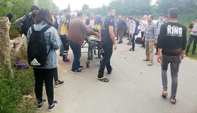 İstanbul'da 'drift' terörü, 7 öğrenci yaralandı
