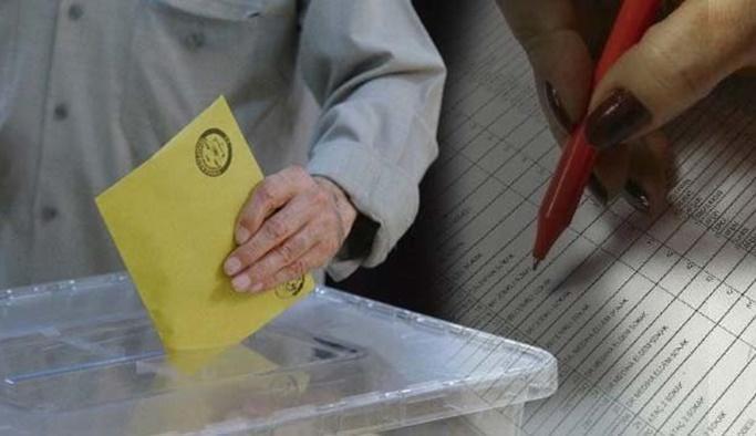 İstanbul seçimi için sorgu ekranı açıldı