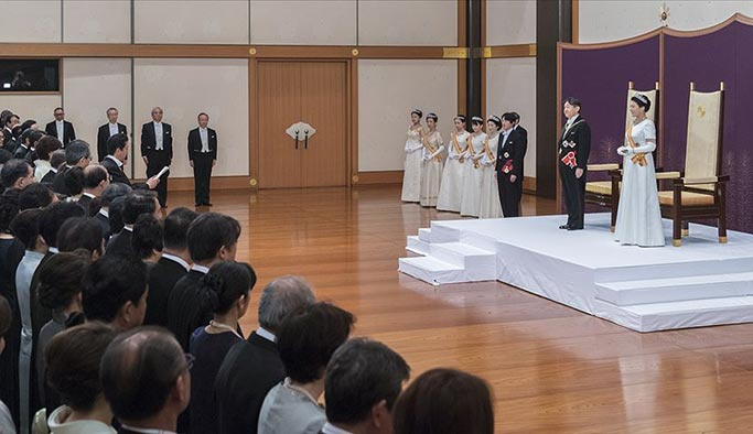 İşte yeni Japon İmparatoru Naruhito