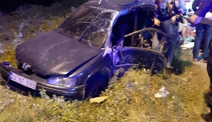 Kocaeli Kandıra'da feci kaza, ölü ve yaralılar var
