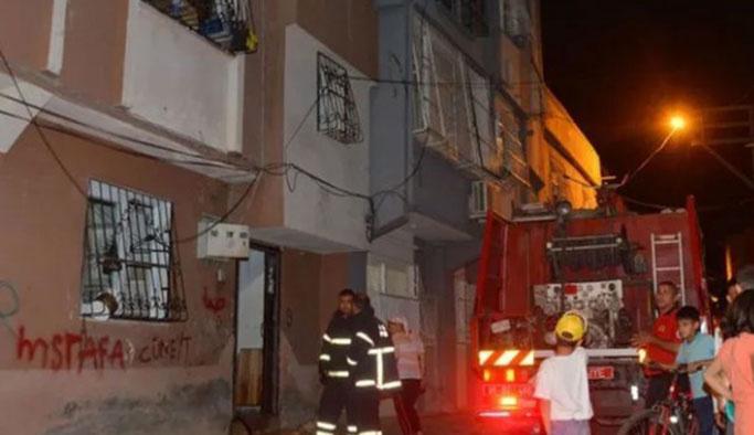 Komşu kızını kaçıran adamın evi ateşe verildi