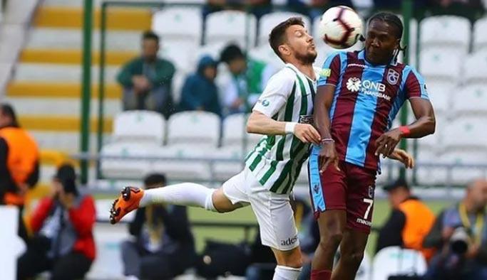 Konyaspor-Trabzonspor maç özeti