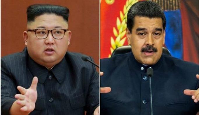 Kuzey Kore'en Venezuela Başkanı Maduro'ya destek