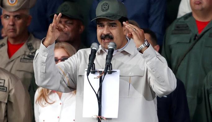 Maduro: Askerlerin yüzde 80'i kandırılmış