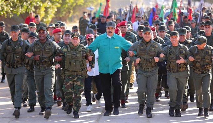 Maduro darbecileri böyle uyardı: Kafalarını keseceğiz