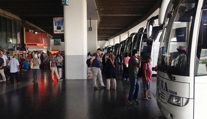 Otobüs firmalarında bayram yoğunluğu başladı