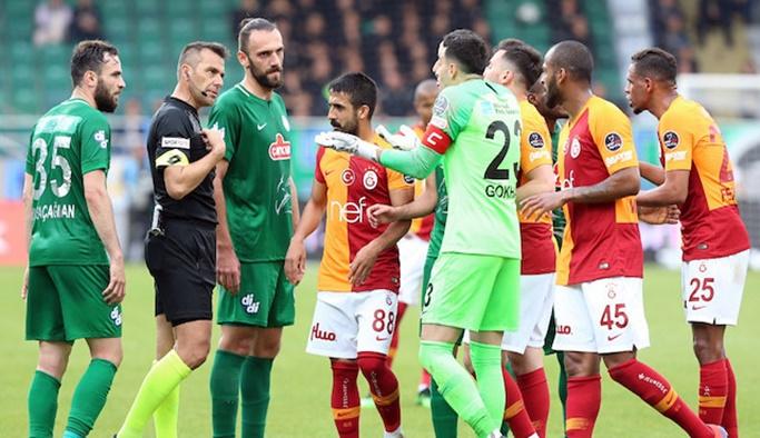 Rizespor'dan 'Galatasaray ile maç tekrar edilsin' başvurusu
