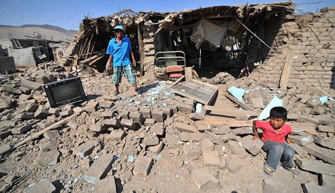 Sarsılmaya devam ediyor, 8.0 büyüklüğünde deprem